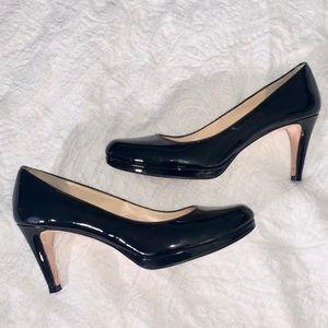 Cole Haan Women's Patent Leather Pumps Black